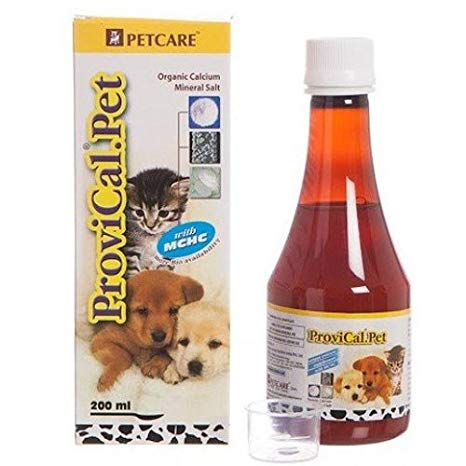 Petcare Provical Pet Calcium Supplement Syrup, 200ml