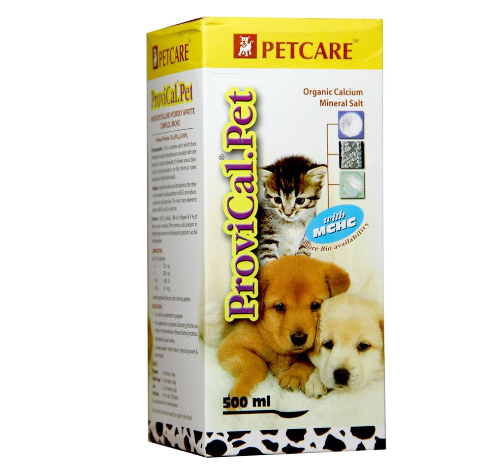 Petcare Provical Pet Calcium Supplement Syrup, 500ml