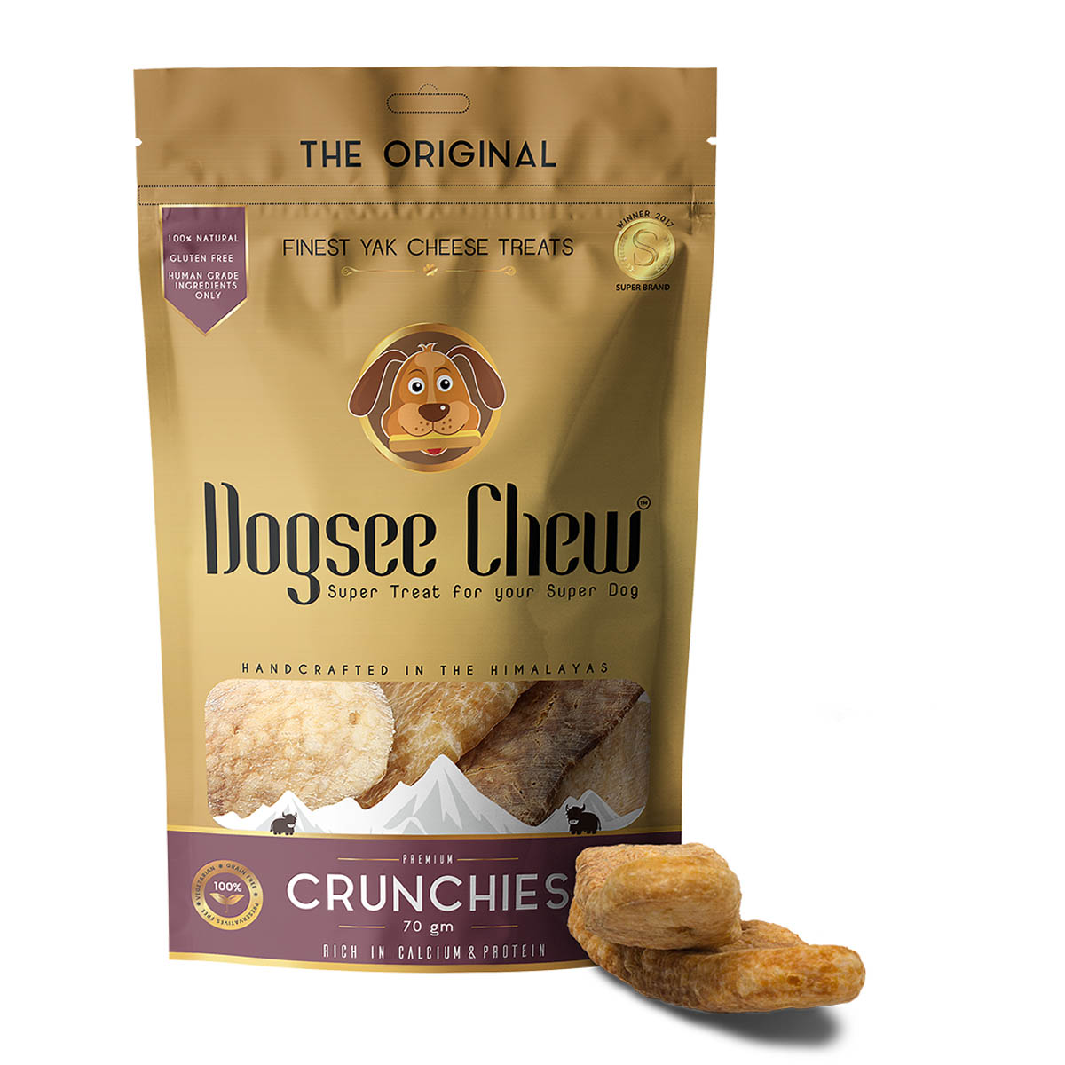 Dogsee Chew Crunchies 70gm