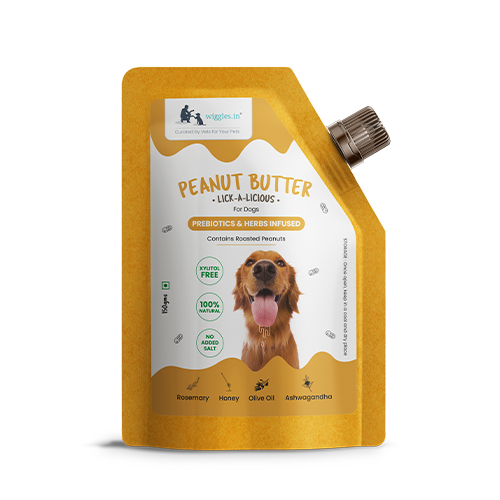 Wiggles Peanut butter for dogs