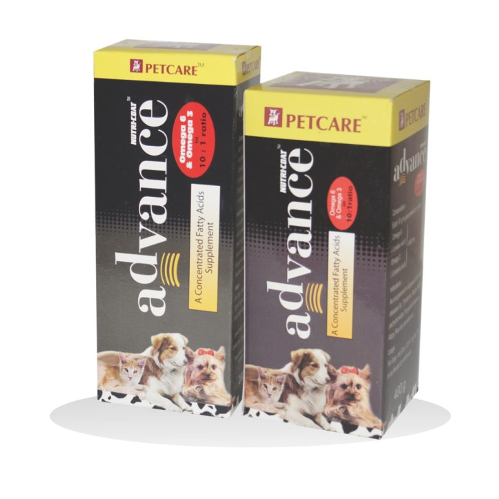 Pet Care Nutricoat Advance Supplement | Dogs and Cats | Multiple Sizes |