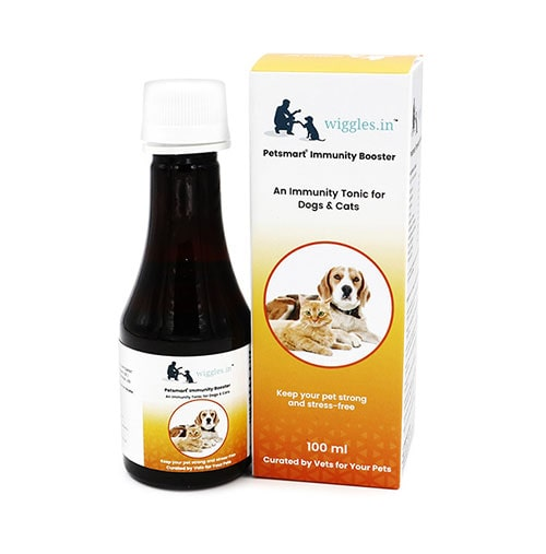Wiggles Immunity Booster for Dogs and Cats 100ml