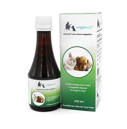 Wiggles Liver Tonic & Appetizer for Dogs and Cats 200ml