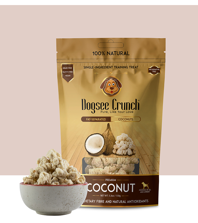 Dogsee Crunch Coconut 150gm