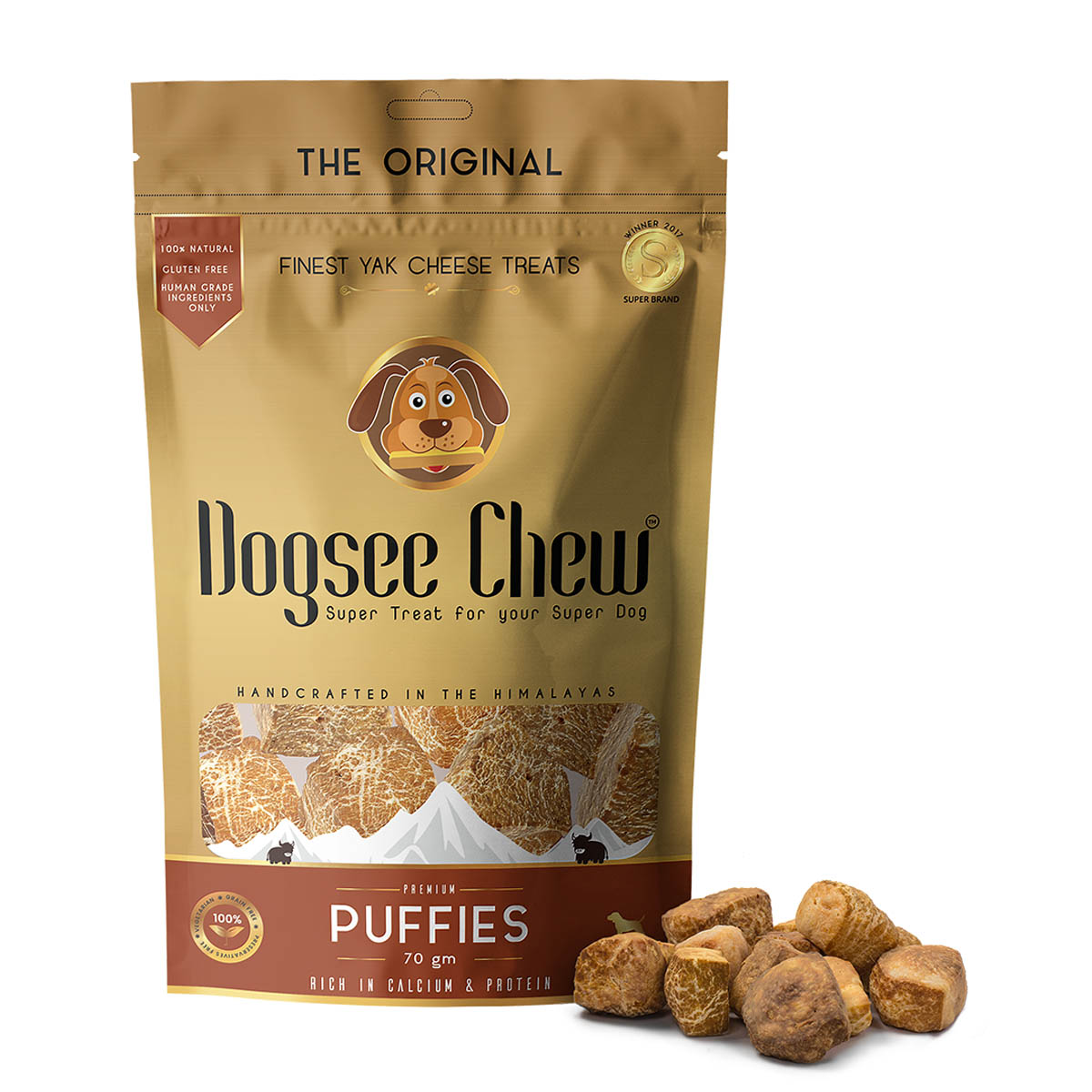 Dogsee Chew Puffies 70gm