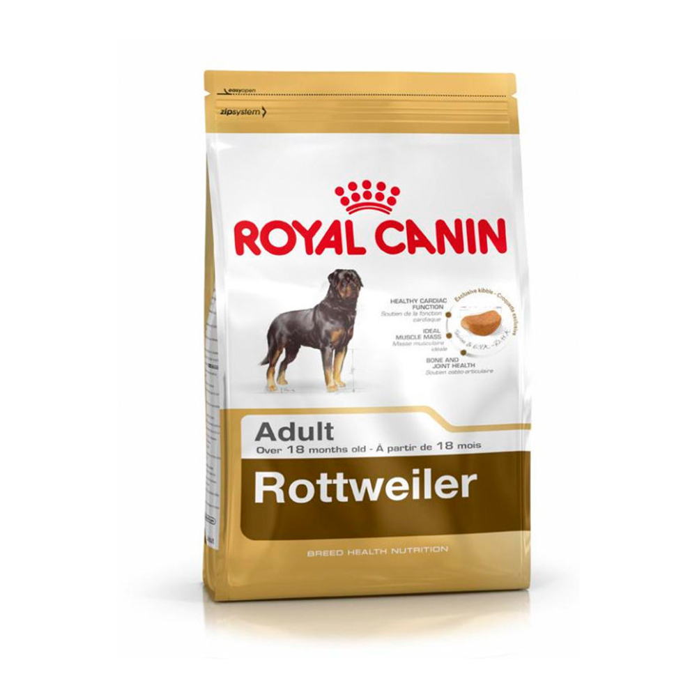 Royal Canin Rottweiler Adult Dry Food | Multiple Sizes |