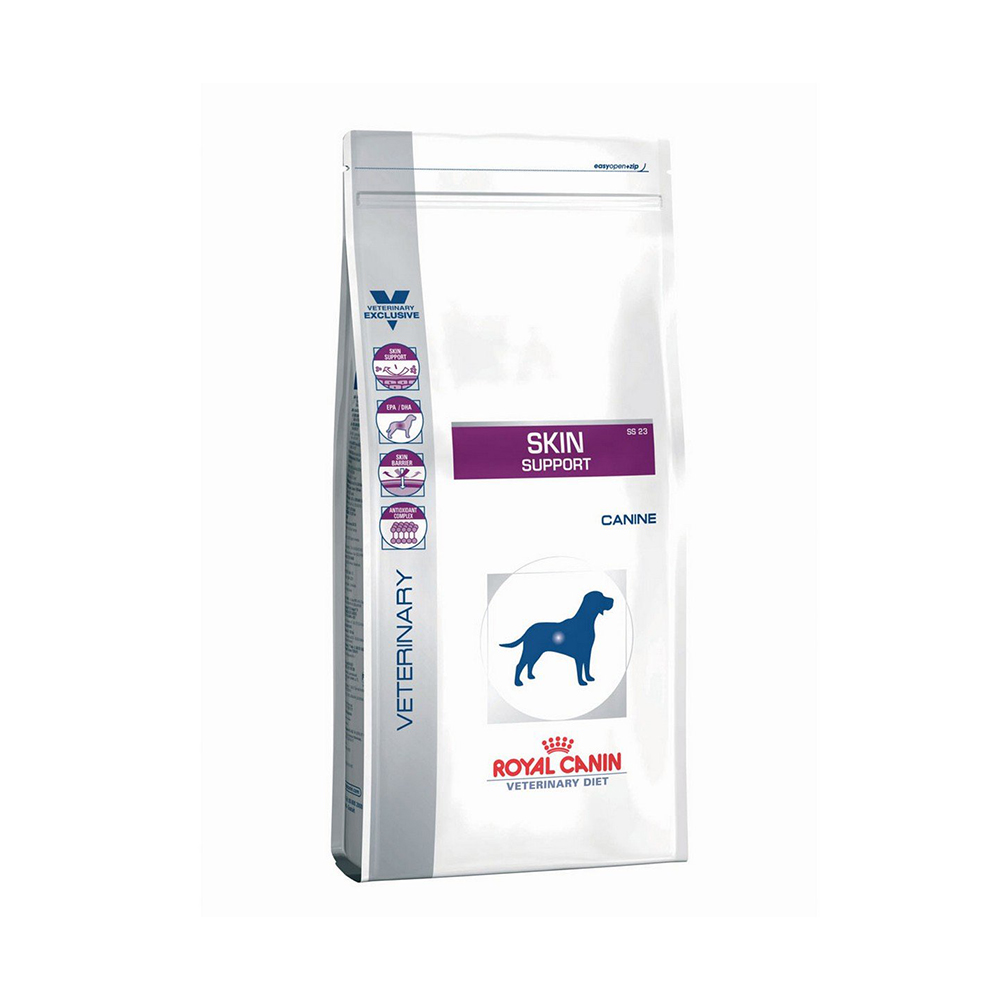 Royal Canin Skin Support Veterinary Diet Canine Dry Food  | 2 KG