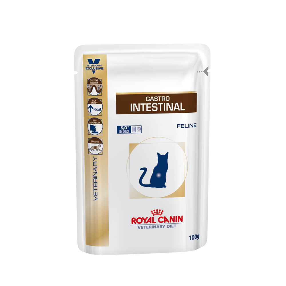 Royal Canin Gastro Intestinal Cat Feline Wet Pouch | 100 GM