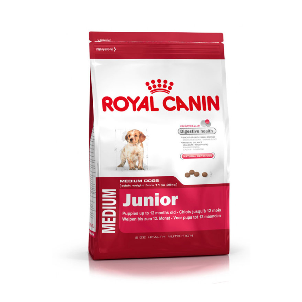 Royal Canin Medium Junior Dry Food | 15 KG