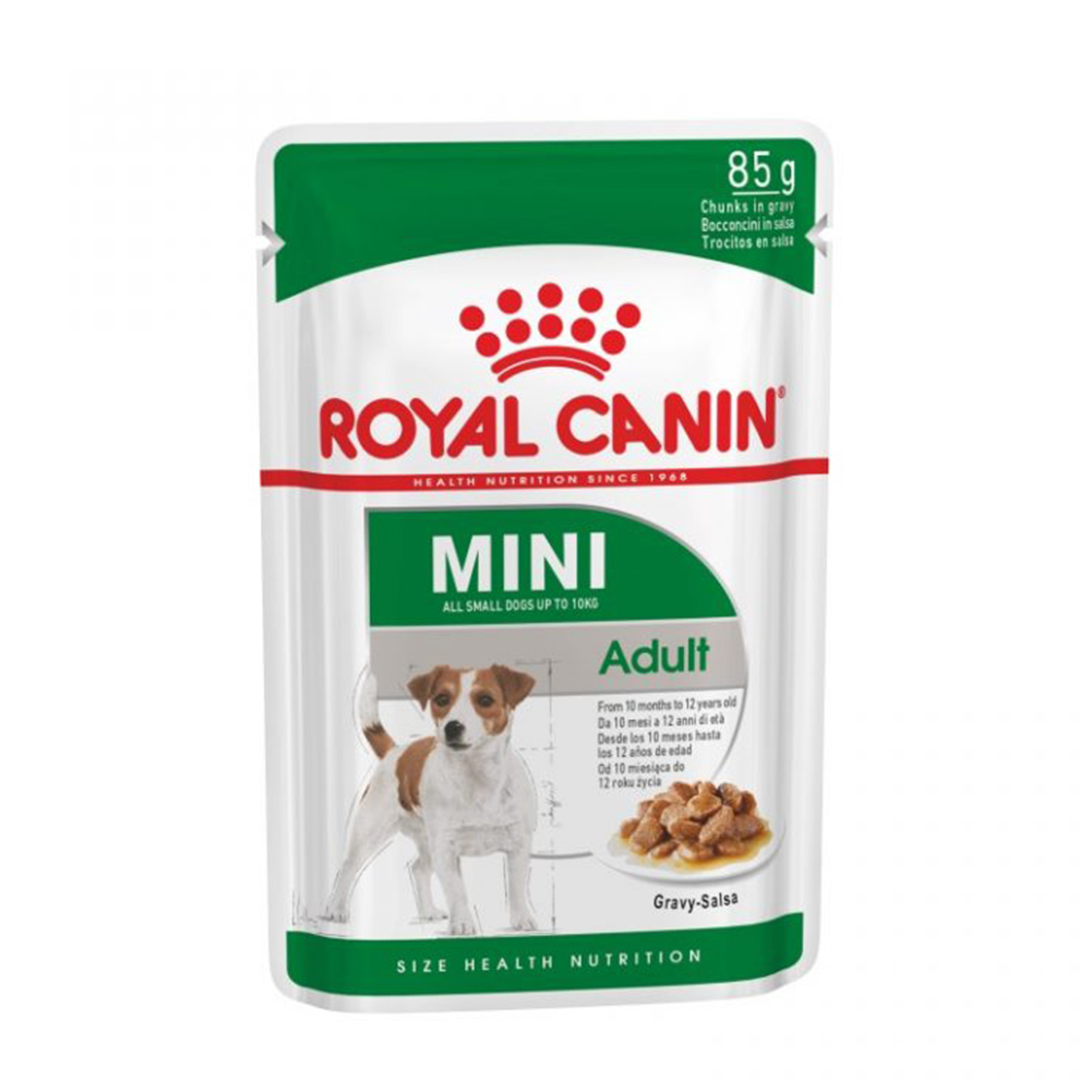 Royal Canin Mini Adult Wet Pouch | 85 GM