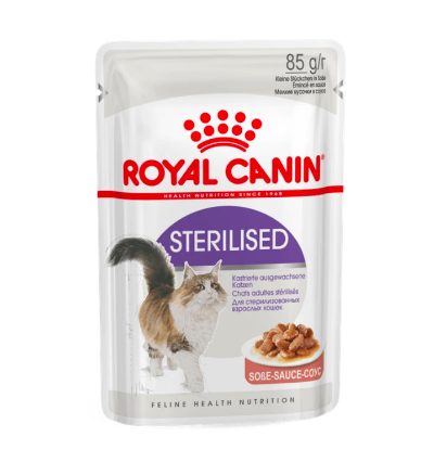Royal Canin Sterilised/Neutered Wet Cat Food - 85 gm