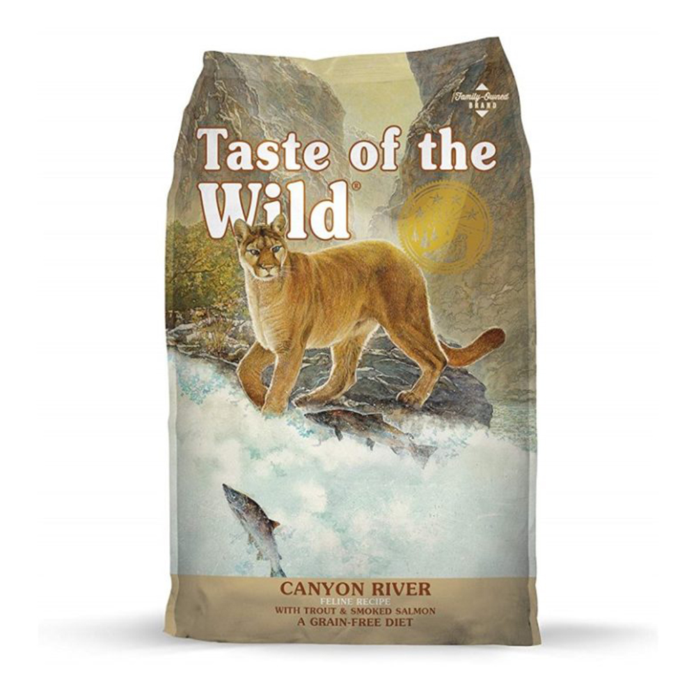 Taste of the Wild - Canyon River Feline Recipe with Trout & Smoked Salmon Adult | 2 KG