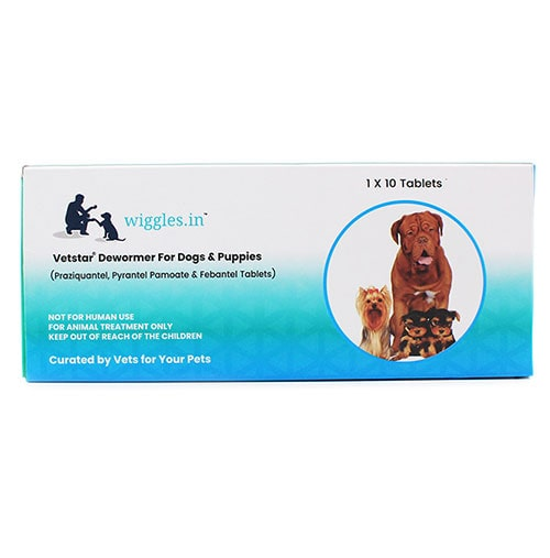 Wiggles Dewormer for Dogs & Puppies (1 * 10)