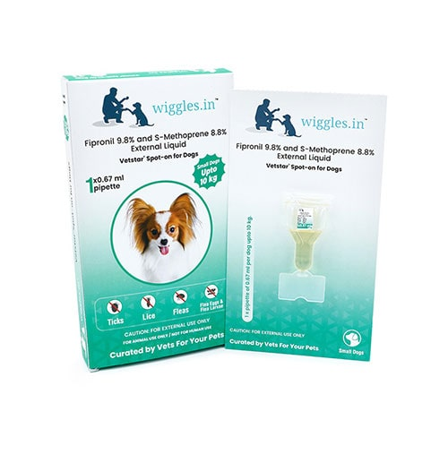 Wiggles Spot-on for Dogs (Small Dogs up to 10 kg)