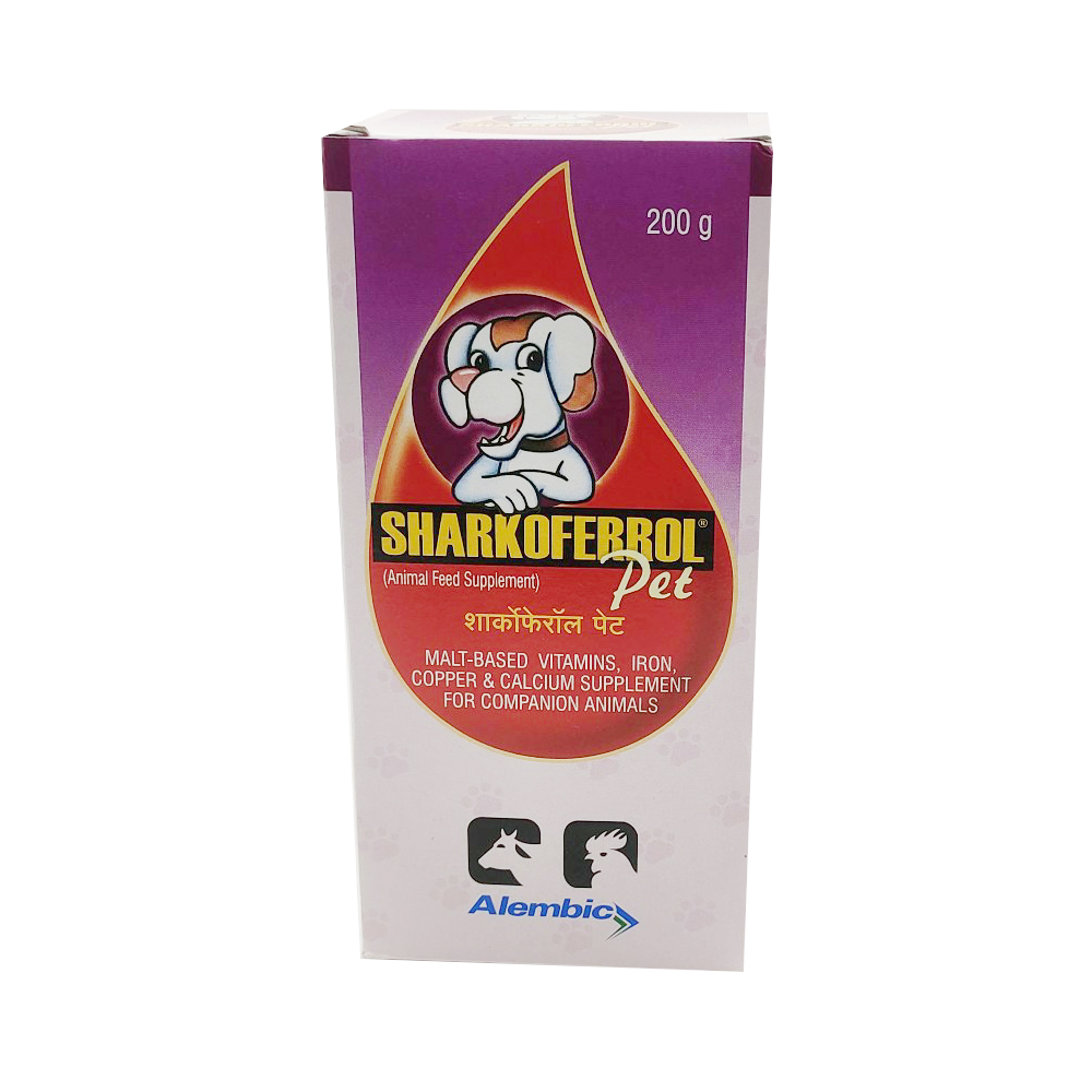 Alembic Sharkoferrol Pet Calcium Supplements | 150 GM