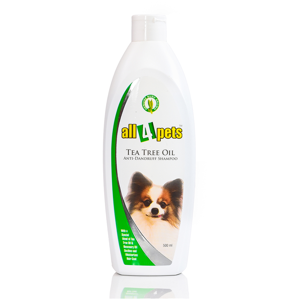 All 4 Pets Tea Tree Oil Shampoo | Pets | Multiple Sizes |
