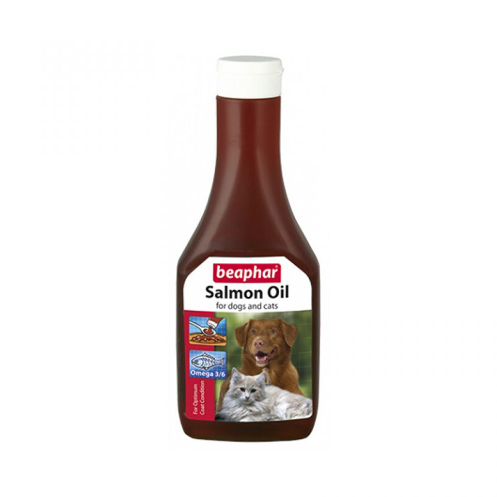 Beaphar Salmon Oil | Dogs and Cats | 425 ML