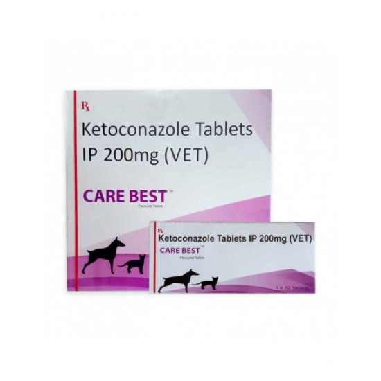 Care Best Ketoconazole Antifungal Tablets Ip 200 mg, 10's