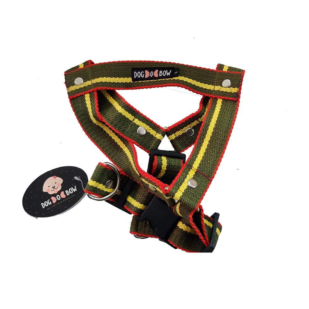 Dog O Bow Solid Print Body Belt | Large |