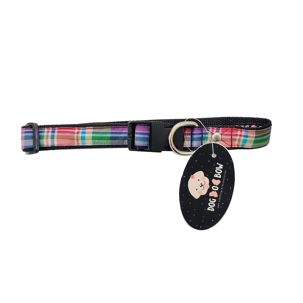 Dog O Bow Printed Collar | Large |