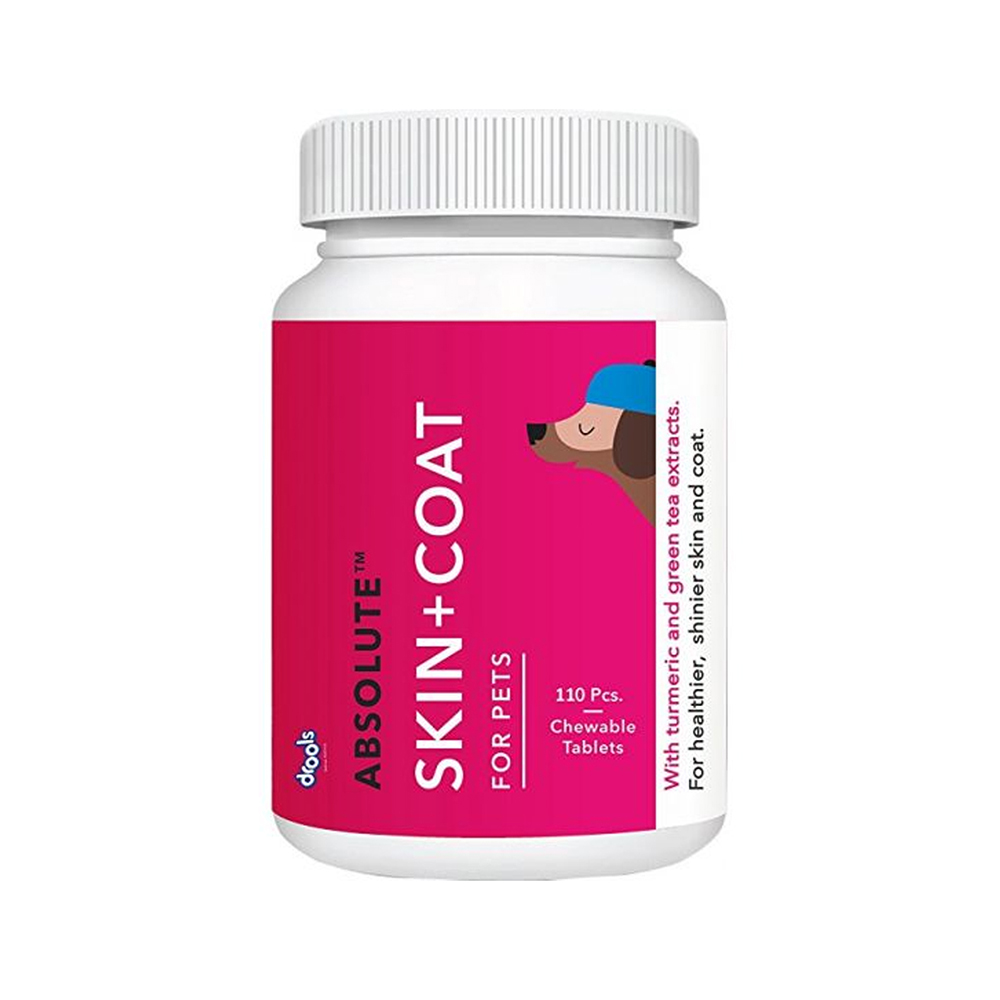 Drools Skin and Coat Absolute Chewable Tablets