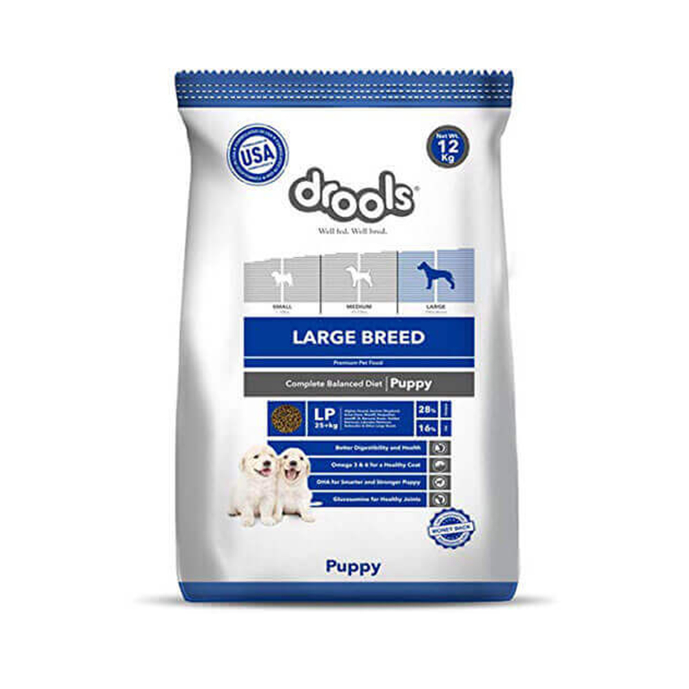 Drools Large Puppy Dry Food | Multiple Sizes |