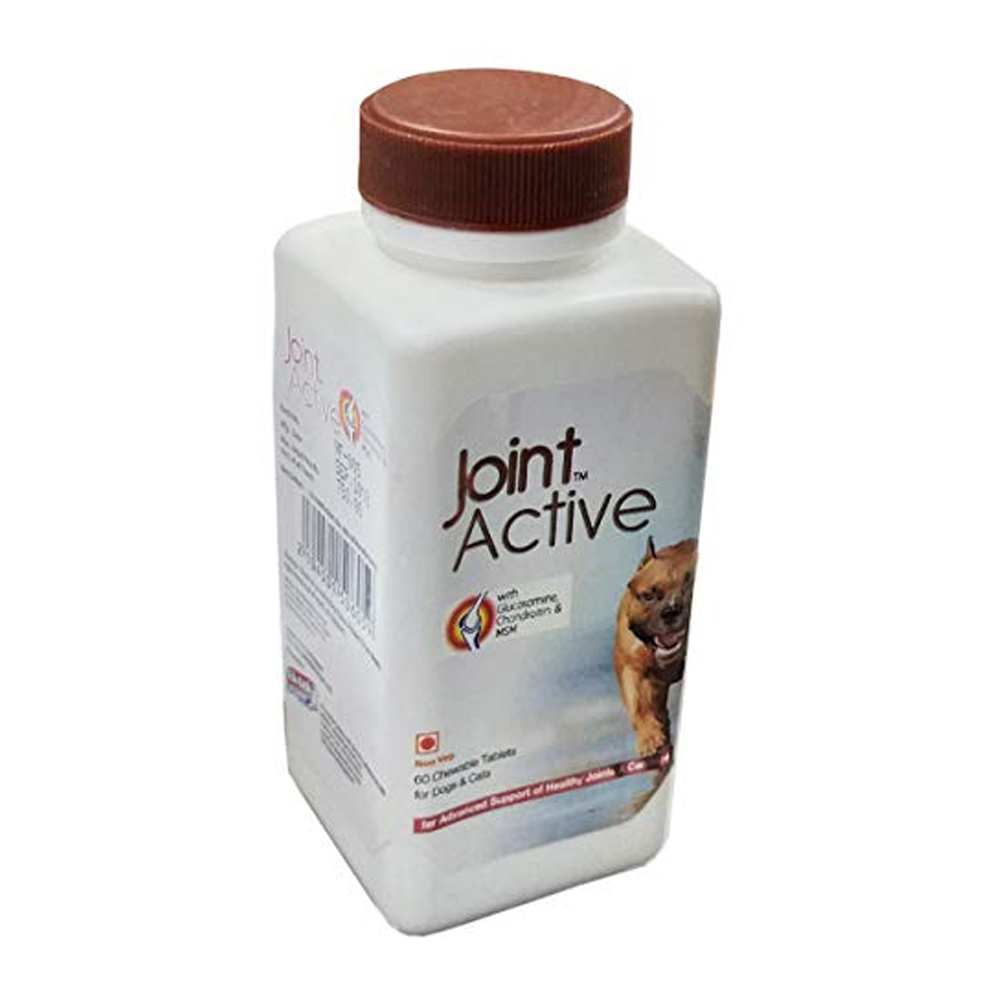 Ek Tek Joint Active Tablets | Dogs and Cats | 60 Tablets