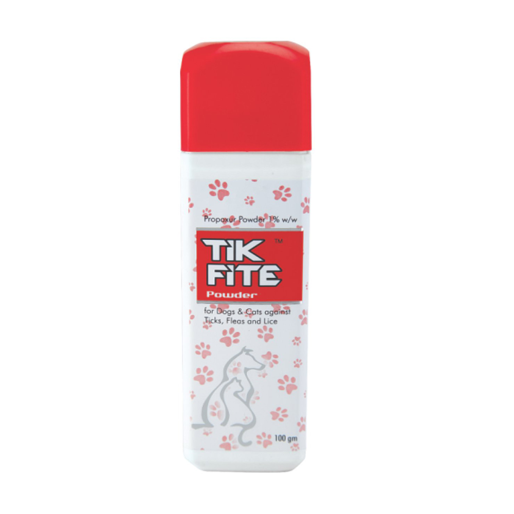 Ek Tek Tikfite Dusting Powder | Dogs and Cats | 100 GM
