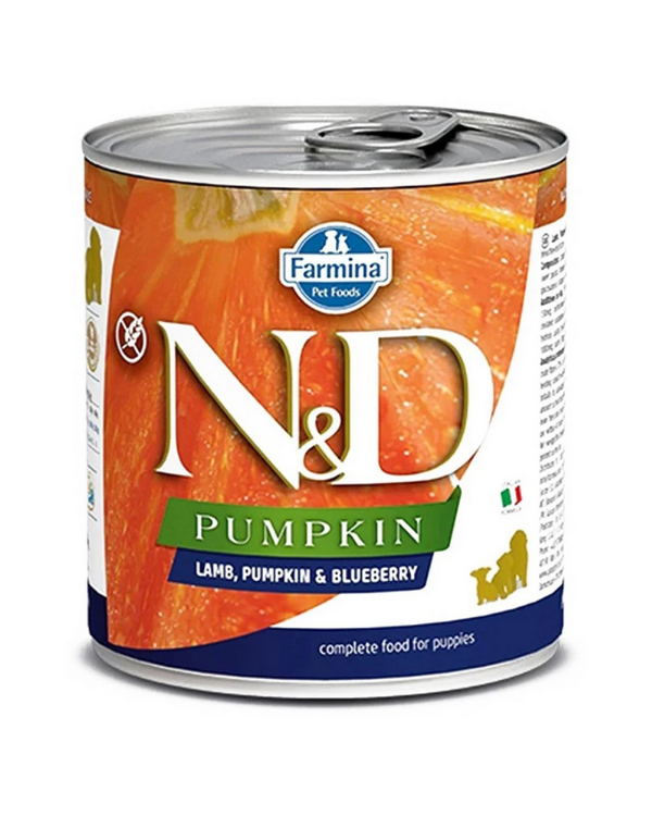 Farmina N&D Pumpkin - Starter Puppy Food - Lamb, Pumpkin & Blueberry - 285 g