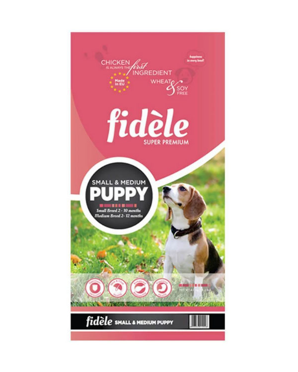 Fidele Small & Medium Puppy Dry Food | Multiple Sizes |