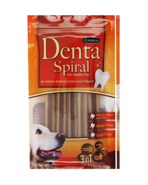 Goodies Denta Spiral Stix Treats | Multiple Sizes |