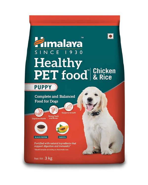 Himalaya Puppy Food chicken and rice 3kg