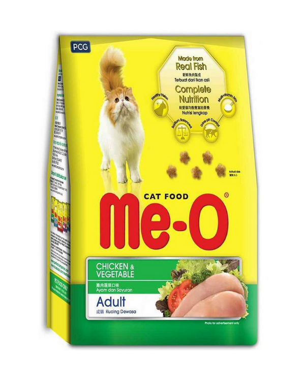 Me-O Adult Cat Food - Chicken & Vegetable