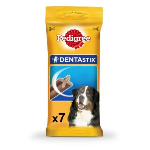Pedigree Dentastix Dog Treat Oral Care for Adult Medium Breed (10-25 kg), (7 Sticks) 180g Weekly Pack