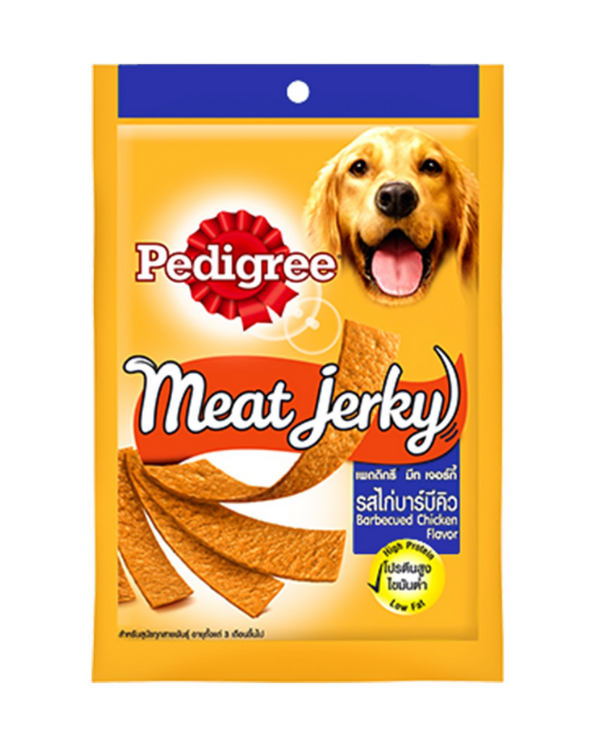 Pedigree Meat Jerky Barbequed Chicken Flavor | 80 GM