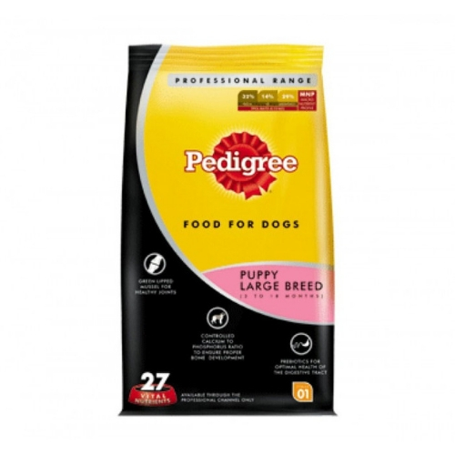 Pedigree PRO Expert Nutrition, Dry Dog Food Food for Large Breed Puppy (3-18 Months)