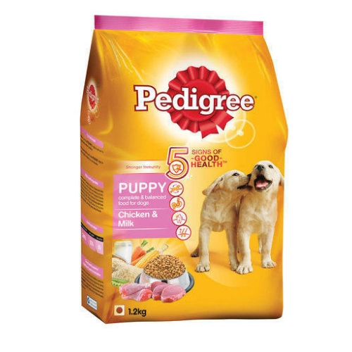 Pedigree Puppy Dry Dog Food, Chicken & Milk