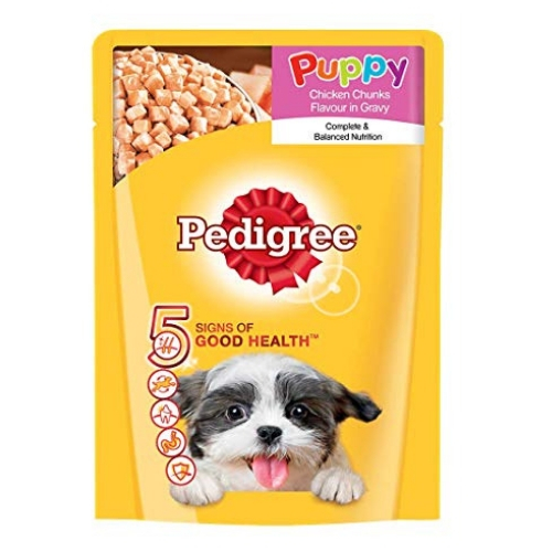 Pedigree Puppy Chicken Chunks Gravy Pouch