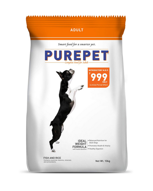 Purepet Adult Fish and Rice Flavor | 17.25 KG