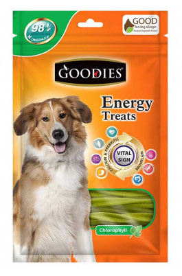 Goodies energy treats Chlorophyll flavour
