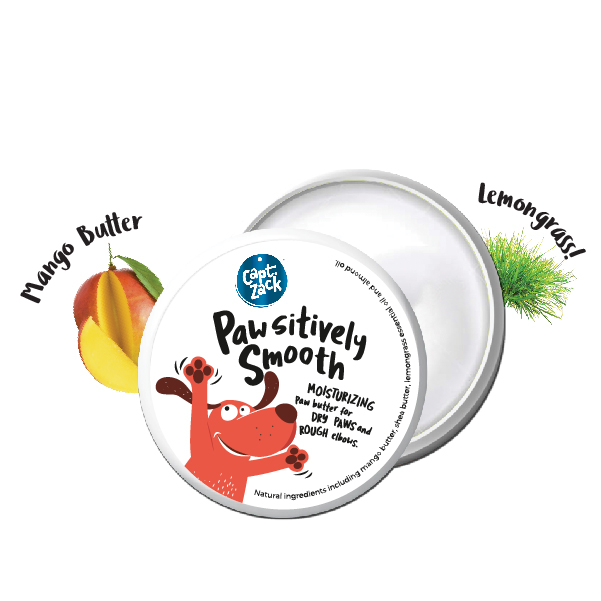 Captain Zack Pawsitively Smooth Paw Butter for Dogs and Cats, 100g