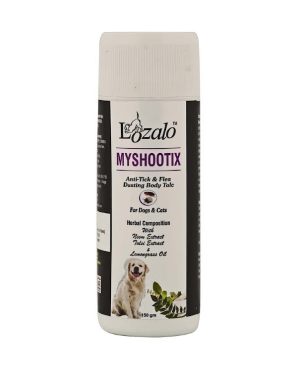Lozalo Anti Tick & Flea Powder | 150 GM