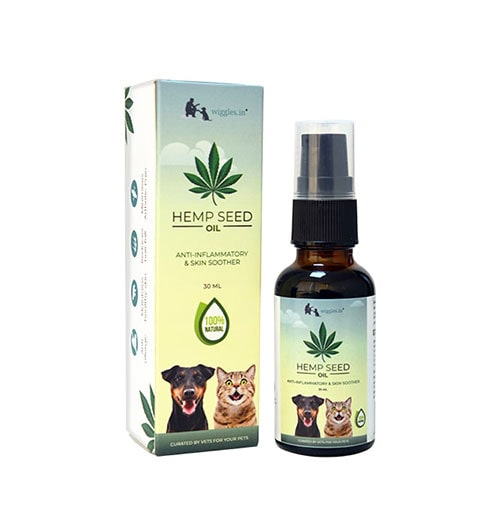 Wiggles Hemp Seed Oil (30ml - Dogs and Cats)