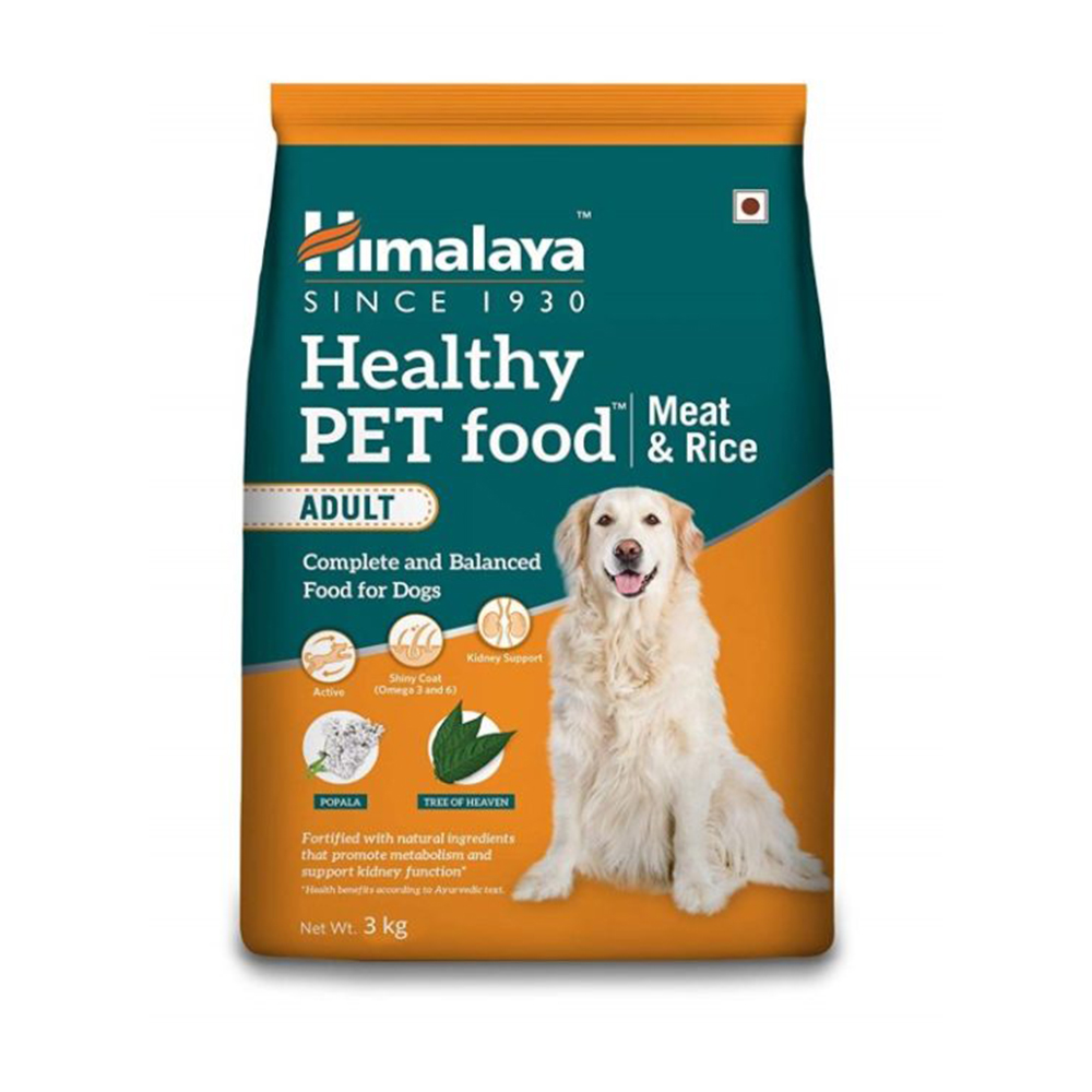 Himalaya Adult Meat and Rice Dog Dry Food | 10 KG