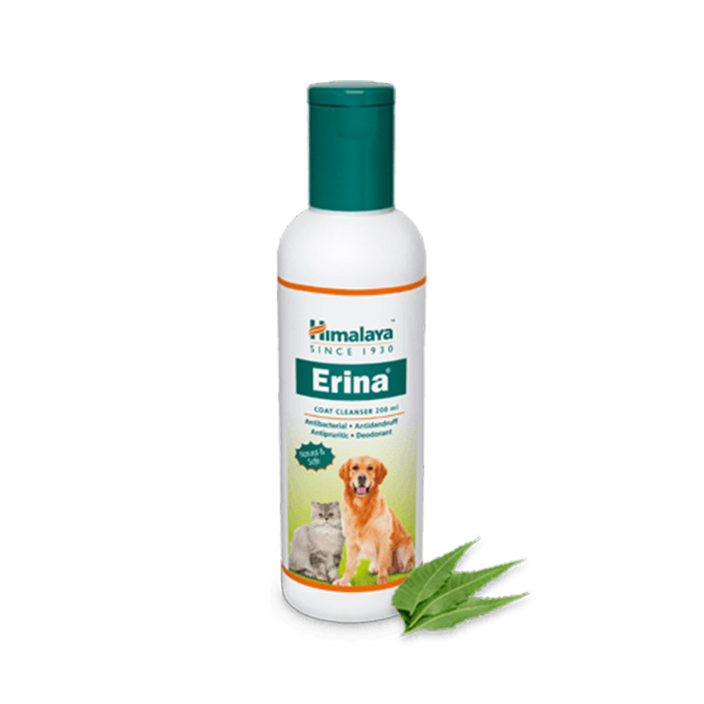 Himalaya Erina Coat Cleanser | Dogs and Cats | Multiple Sizes |