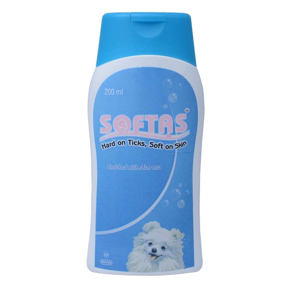 Intas Softas Dog Shampoo | 200 ML