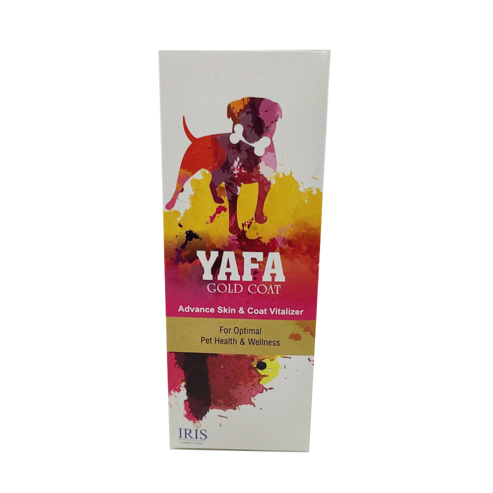Iris Yafa Gold Coat Vitalizer | Dogs | 200 ML