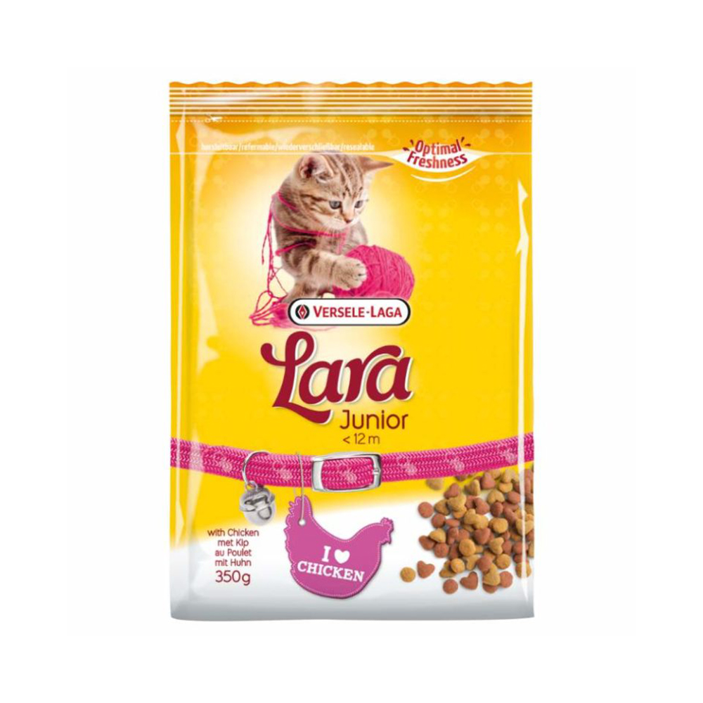 Lara Junior with Chicken Flavor | Multiple Sizes |