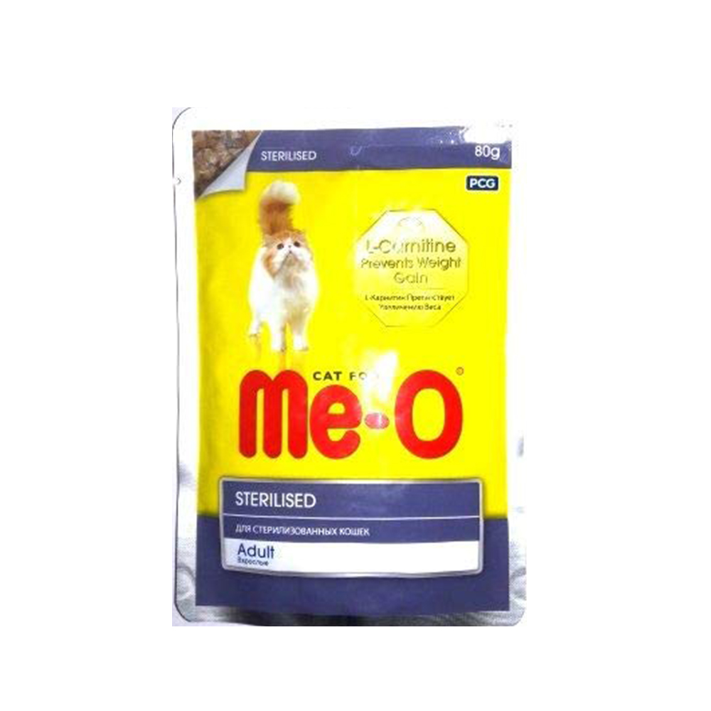 Meo Sterilised Adult Wet Pouch | 80 GM