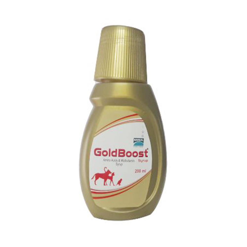 Merial Goldboost Syrup | Dogs ; Cats and Birds | 200 ML